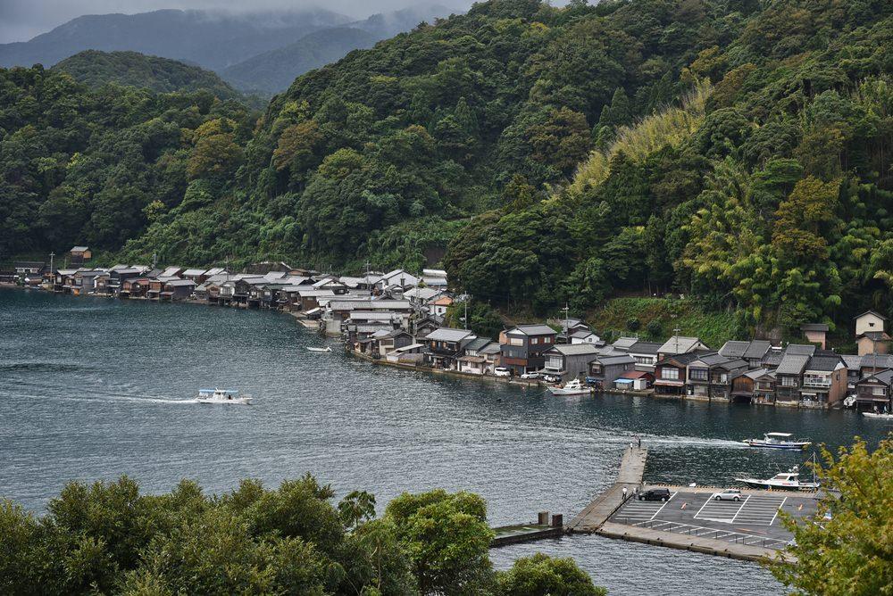 京都秘境  探索日本百大絕美小鎮—伊根舟屋