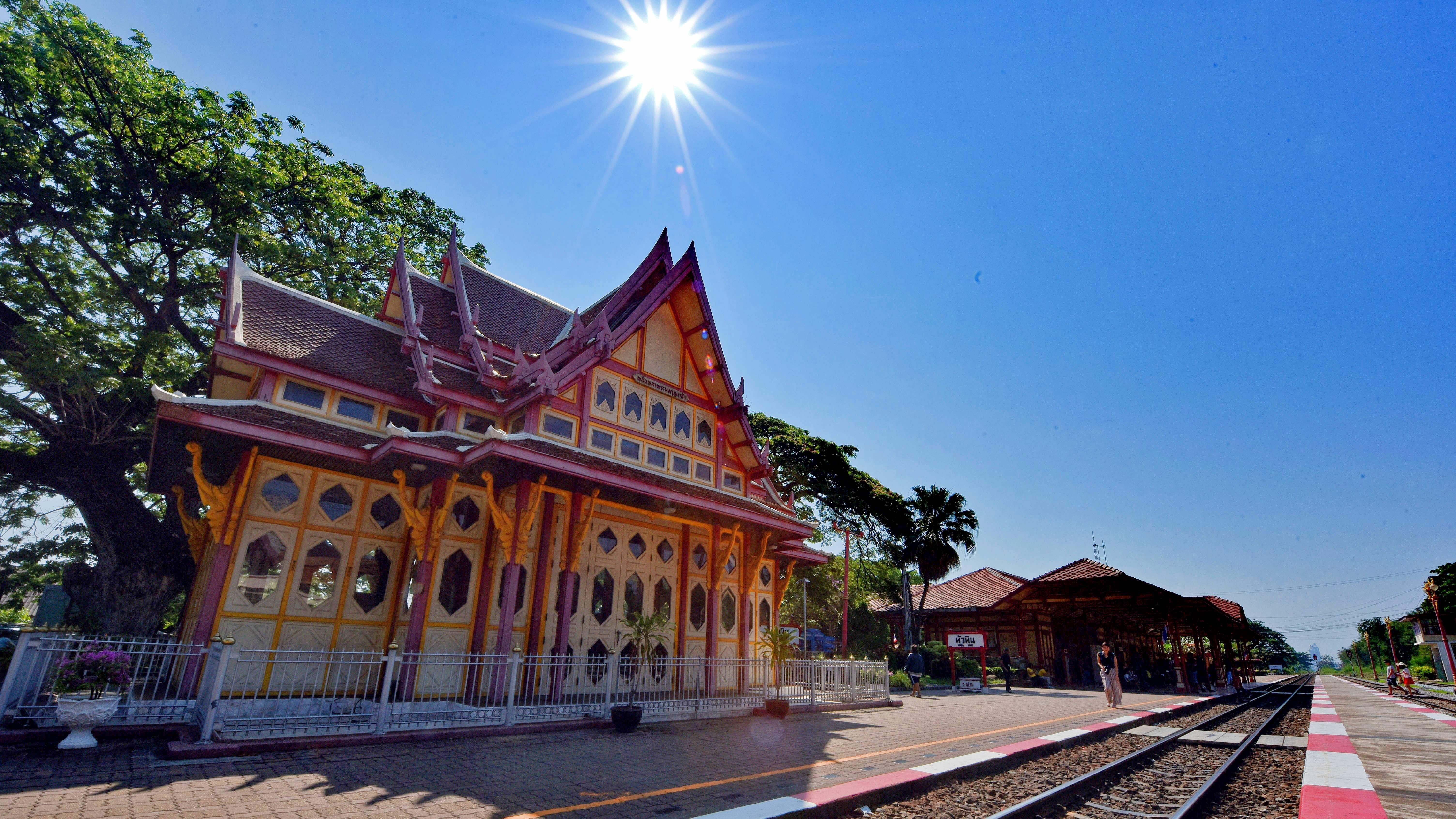 【泰國華欣】怎麼可以不去看看百年情懷下最美的車站,華欣火車站。